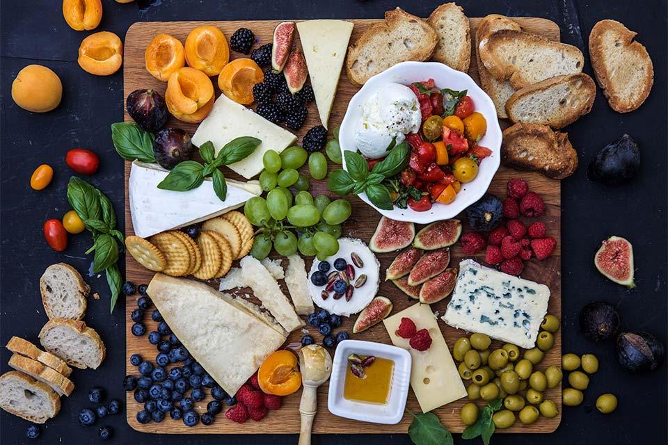 mat med ost