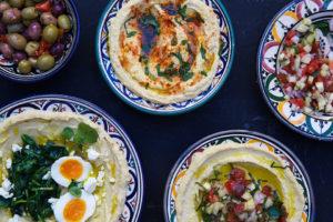 Hummus -lunsj